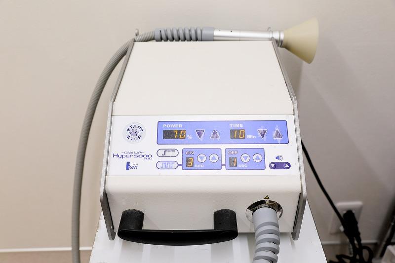 直線偏光近赤外線治療機